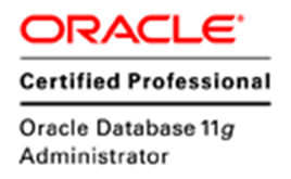 ORACLE Certified professional 11g